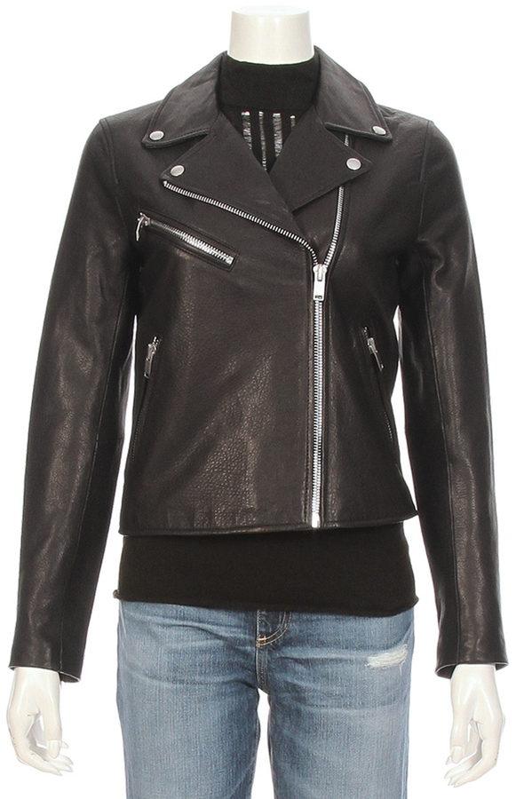 Doma DOMA Classic Leather Moto Jacket