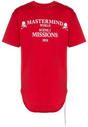 Mastermind Japan missions logo cotton t-shirt