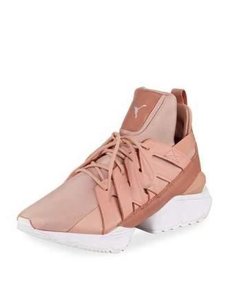 Puma Muse Echo Satin Sneakers
