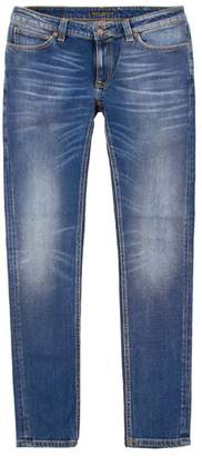 Nudie Jeans Skinny Lin - Cold Blue