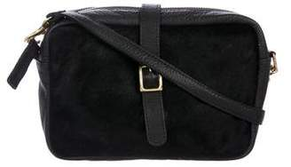 Clare Vivier Ponyhair and Leather Crossbody Bag