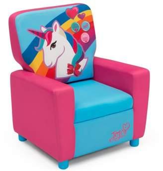 Jo-Jo JoJo Siwa Youth High Back Upholstered Chair by Delta Children