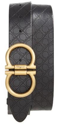 Men's Big & Tall Salvatore Ferragamo Gancini Belt $360 thestylecure.com