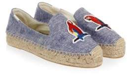 Soludos Parrots Smoking Slippers