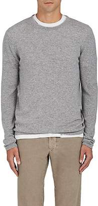 Barneys New York Men's Fine-Gauge Knit Cashmere Sweater - Gray