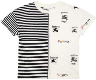 Burberry Patchwork Logo Cotton Jersey T-Shirt