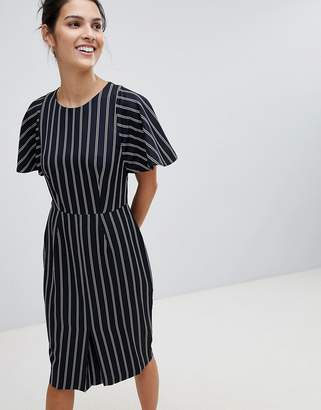 Closet London Closet Striped Pencil Dress