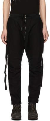 The Viridi-anne Black Zip Trousers