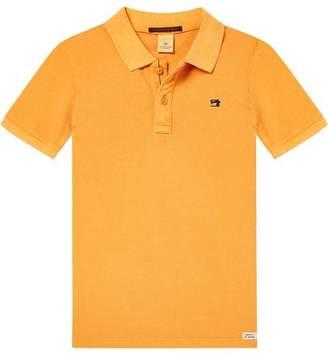 Scotch & Soda Garment Dyed Polo