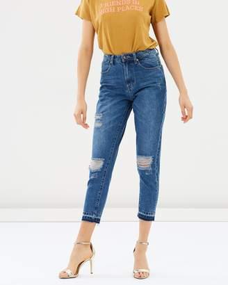 One Teaspoon High Waist Mom Jeans