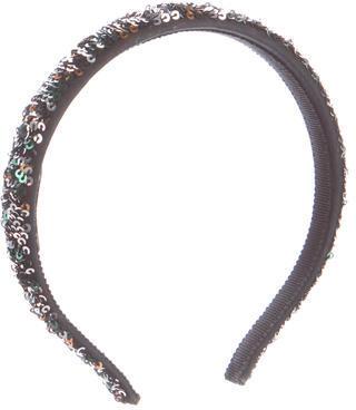 Miu MiuMiu Miu Sequin-Embelllished Headband