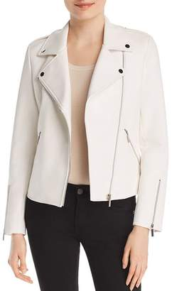 Bagatelle Embossed Faux Leather Moto Jacket