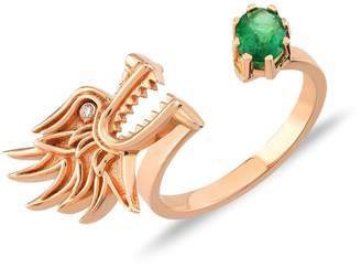 Dragon Optical Selda Jewellery Lady Ring Emerald