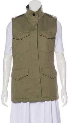 Rag & Bone Button-Up Cargo Vest