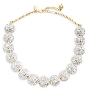 Kate Spade Razzle Dazzle Crystal Statement Necklace