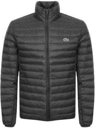 Lacoste Full Zip Padded Jacket Black