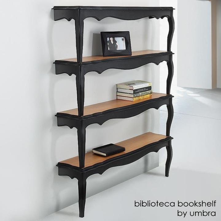 Umbra - biblioteca bookrack - black/natural by umbra