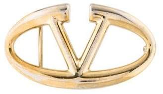 Valentino Logo Buckle Belt