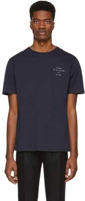 Saturdays NYC Navy Established Chest T-Shirt