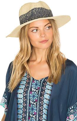 Hat Attack Wide Stripe Fedora in Beige. $88 thestylecure.com