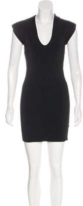 Torn By Ronny Kobo Patterned Bodycon Dress w/ Tags