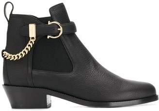 Salvatore Ferragamo Gancini ankle boots