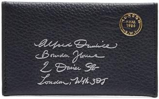 Dunhill Boston leather envelope cardholder