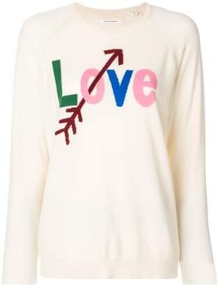 Parker Chinti & Love printed sweater