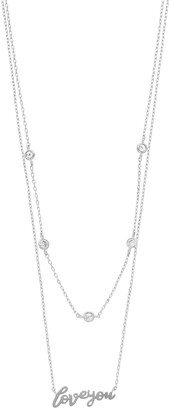 """Paige Harper """"Love You"""" Layered Necklace"""
