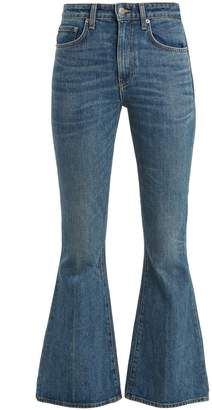 Brock Collection Belle flared cropped jeans