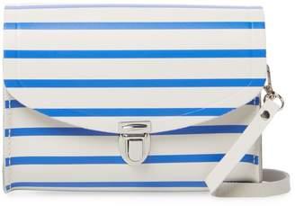 The Cambridge Satchel Company Women's Stripes Leather Crossbody Bag