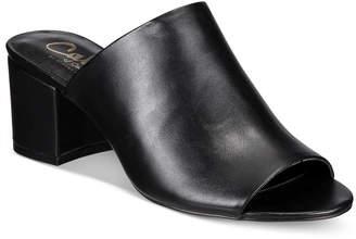Callisto Mathis Block-Heel Mules $95 thestylecure.com