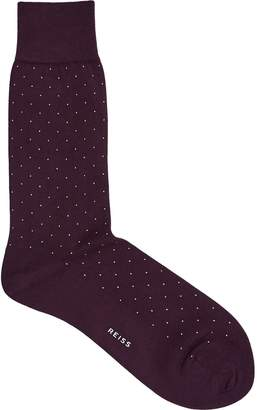 Reiss Pepe Small Polka Dot Socks