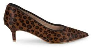 Saks Fifth Avenue Leopard Print Calf Hair Pumps