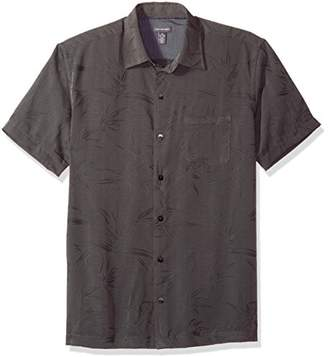 Van Heusen Men's Air Print Short Sleeve Shirt