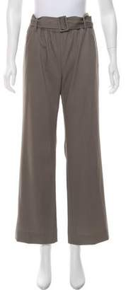 Tomas Maier High-Rise Belted Pants