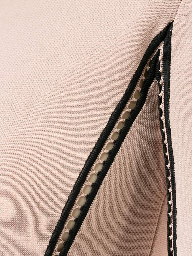 Dion Lee density ladder knit top