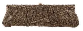 Kotur Tweed Metallic Clutch