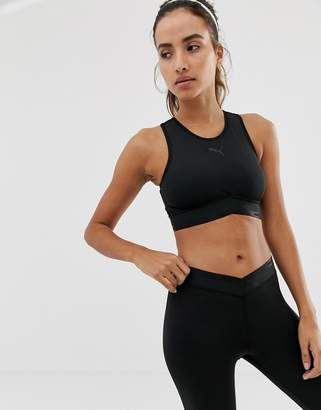 Puma active essentials crop top in black