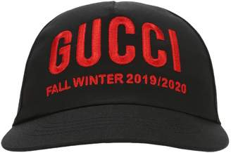 Gucci Embroidered Baseball Hat