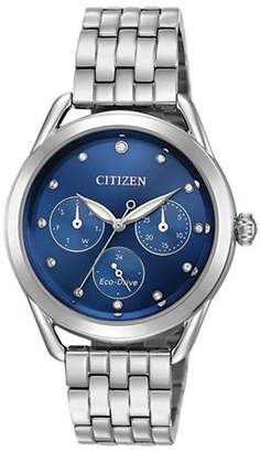 Swarovski CITIZEN DRIVE Long-Term Relationship Crystal and Stainless Steel Bracelet Watch