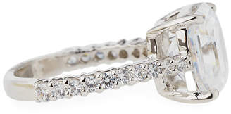 FANTASIA Asscher-Cut CZ Crystal Ring
