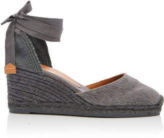 Castaner Carina Canvas Wedge Espadrilles