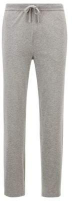 BOSS Hugo jersey pajama bottoms side logo print S Grey