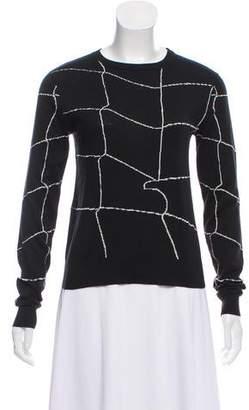 J.W.Anderson Lightweight Rib Knit-Trimmed Sweater