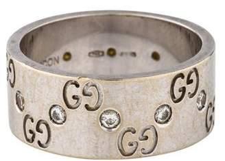 Gucci 18K Diamond Icon Ring