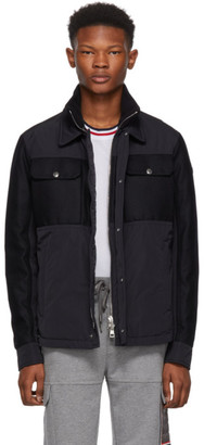Moncler Navy Beaufort Jacket