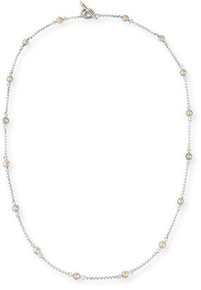 Konstantino Classic Dot Chain Necklace, 28""