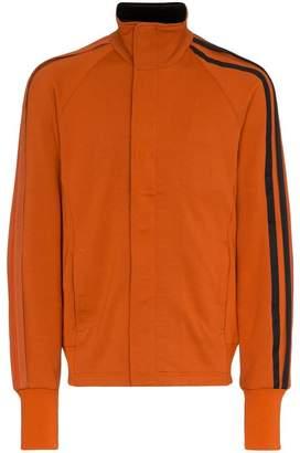Y-3 Stripe detail cotton-blend jacket