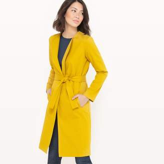 La Redoute Collections Long Belted Coat